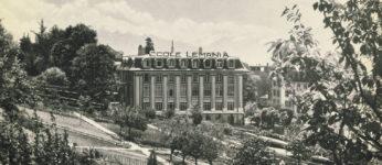 Ecole Lémania - Historique