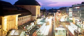 Vue sur la Gare de Lausanne